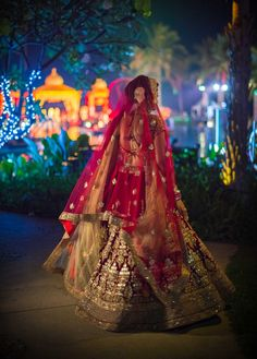 Huahin Lehenga Sabyasachi Beach Wedding Photography Thailand - Anoop Photography
