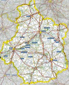 Loire Valley Map #loire #travel #france #map #ontheroad