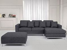 Modern Sectional Sofa - L-Shape Couch - Upholstered - Grey | couches, futons | City of Toronto | Kijiji