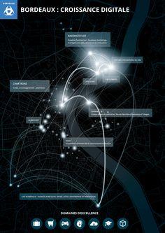 Bordeaux : croissance digitale  #infographic #datavisualisation