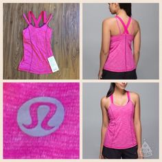 Run For The Gold Tank size 2! New! Run For The Gold Tank size 2! New! So pretty!! lululemon athletica Tops Tank Tops