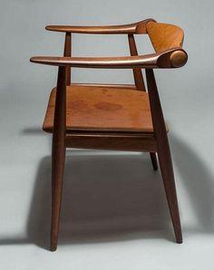 "Hans J Wegner ""Yoke Chair"" 1959"
