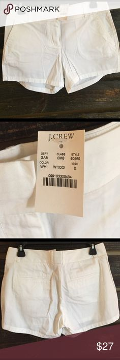 J. Crew Chino Shorts BRAND NEW WITH TAGS! I love chino shorts from J. Crew, they are so comfy! Ordered online and never ended up needing them! J. Crew Shorts