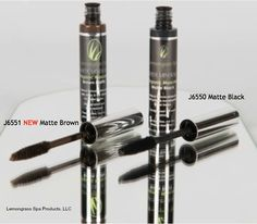 Organic Mascara black or brown. Smudge proof, water resistant and goes along way www.ourlemongrassspa.com/AliciaBlake