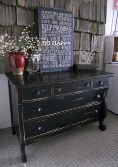 {createinspire}: Antique Empire Dresser