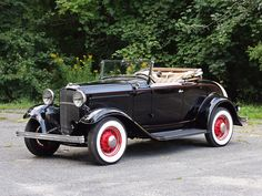 1932 Ford Model A Cabriolet wallpaper