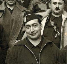 El jefe de la Falange Española de las JONS, Federico Manuel Hedilla Larrey (1903-1970; 1936-1937)