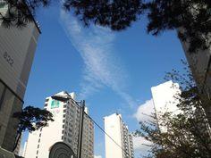 길음동 하늘