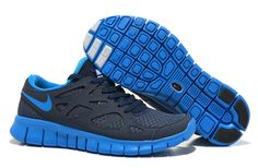 low priced ae050 43425 Buy Latest Listing Mens NSW Thunder Blue Photo Blue Obsidian White Nike Free  Run 2 Fashion Shoes Store