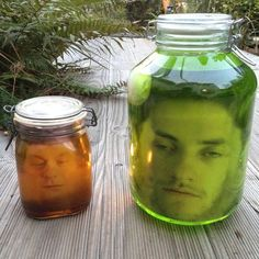 DIY Face in a jar