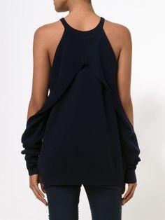 свитер с открытми плечами