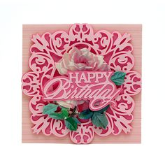 When you shop for discount craft supplies at HSN, you'll find impressive savings on everything from tools and equipment to accessories and supplies. Anna Griffin Cards, Cricut Cards, Happy Birthday Cards, Flower Cards, Greeting Cards Handmade, Boutique, Making Ideas, Cardmaking, Sewing Crafts