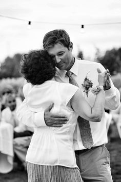 Sweet image of the Mother-Son dance by Octavia Hunter Photography.