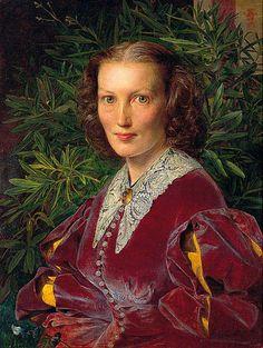 Hannah Louisa by Frederick Sandys