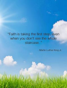 You've got to have #faith. #MLK #positivity #inspiration #quote