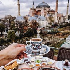 Unforgettable view from @sevenhillsrestaurant ~ Istanbul, Turkey Photo: @tiebowtie Congrats!.
