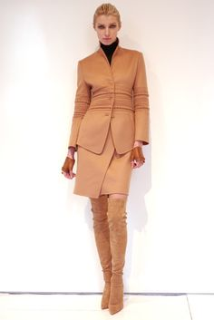 Chado Ralph Rucci RTW Fall 2012: One of the most underrated designers in the US.