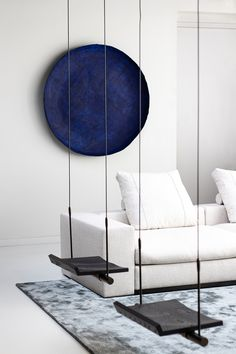 Art Bowl - by JULY®, July Adrichem, Night Blue (dia 120cm.)