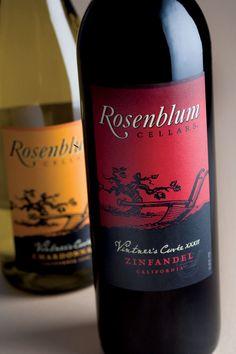 Rosenblum Wine Package Design   Sterling Creativeworks