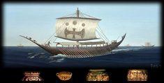 Minoans Sailing on the High Seas