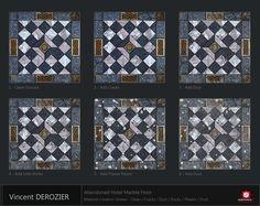 ArtStation - Abandoned Hotel Marble Floor, Vincent Dérozier