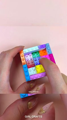 DIY LEGO POP IT FIDGET TOY