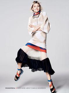 visual optimism; fashion editorials, shows, campaigns & more!: razor's edge: sasha pivovarova by david sims for us vogue january 2014