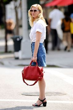 STAR STYLE | il look vintage di Kirsten Dunst
