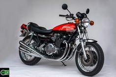 Kawasaki Z 900 von Green Island Bikes. #krautsand #caferacer #oldschoolbikes