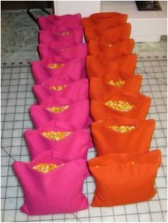 How To: Sewing Your Own Cornhole Bags