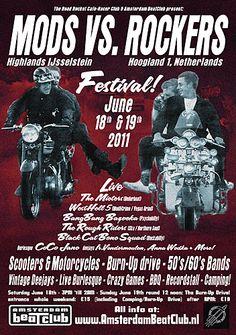 Amsterdam BeatClub & Road Rocket Cafe-Racer Club: Mods vs. Rockers Festival, 2011