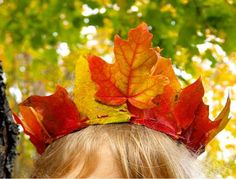 Manualidades para niños: hojas de otoño transformadas en arte