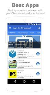 Best apps for Chromecast: miniatuur van screenshot Cast To Tv, Samsung Smart Tv, Photo Games, App Logo, Best Apps, Android Apps, Google Play
