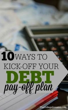 Here are ten fantastic ways you can kick off your debt pay-off plan and start making progress to your goal of becoming debt free.