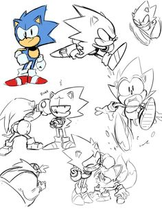 All drawings by Tyson Hesse. Previously artist on: Boxer Hockey, Amazing World of Gumball, Bravest Warriors, Archie's Sonic the Hedgehog, Megaman. Currently working on: Boom Comics' Diesel. Sonic Fan Art, How To Draw Sonic, Sonic The Hedgehog, Arte Nerd, Classic Sonic, Sonic Mania, Sonic Franchise, Sonic And Shadow, Video Game Art