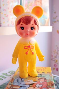 Cute rubber doll