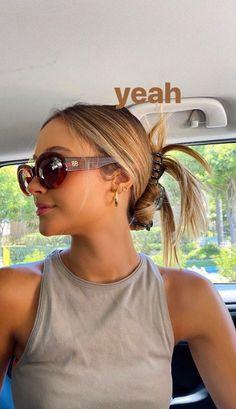 Aesthetic Hair, Summer Aesthetic, Insta Photo Ideas, Mode Inspiration, Mode Outfits, Summer Girls, Cute Hairstyles, Hair Inspo, Hair Goals