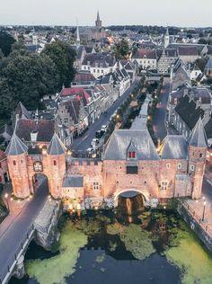 Amersfoort from above van Een Wasbeer