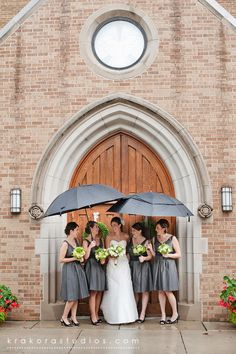 Wedding pictures in the rain. Just incase, it is Oregon and all. :) @Emily Trexler