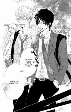 Black Prince And White Prince Scan Vf : black, prince, white, Kurosaki-kun, Iinari, Nante, Naranai, Ideas, Nante,, Manga,, Manga, Romance