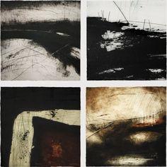 Ross Loveday, Burnt Fen and passage prints Landscape Drawings, Abstract Landscape, Landscape Paintings, Art Drawings, Abstract Oil, Abstract Paintings, Art Paintings, Painting Art, Watercolor Painting