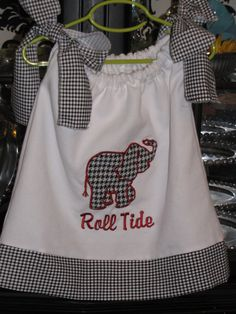 Roll Tide  Now that I've found this I kind of need to have a baby girl