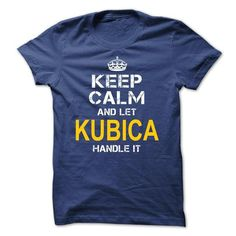 I Love Keep Calm Let Kubica Handle It T shirts