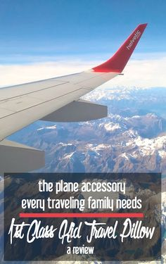 The Plane Accessory Every Traveling Family Needs: 1st Class Kid Travel Pillow   A Review