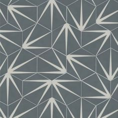 Ca'Pietra Cement Encaustic Lily-Pad Pattern Tile - Flooring from Period Property Store UK (splash back?