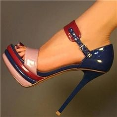 Cheap stilettos can make ladies sexy and charming. Ericdress sells stiletto heels and you have every reason to shop for cheap stiletto sandals from this website. Women's Shoes, Shoe Boots, Prom Shoes, Ankle Boots, Open Toe High Heels, High Heel Boots, Dress Sandals, Ankle Strap Sandals, Platform Stilettos