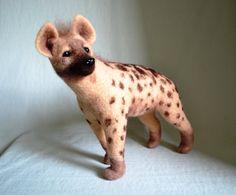 Hyäne Porträt-Ähnlichkeit Ihres Haustieres... Ich von GladOArt