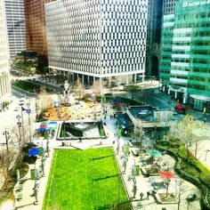 If you haven't been down to Campus Martius for lunch you're really missing out.