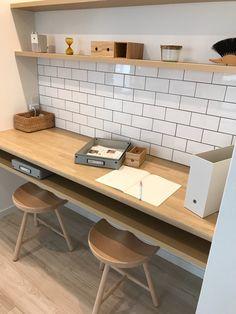 Study Corner, Corner Desk, Kids Study Spaces, Home Office Design, House Design, Ideas Dormitorios, Interior Styling, Interior Design, Natural Interior