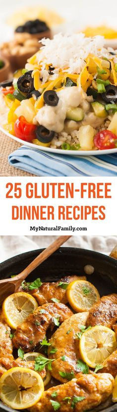 25 of the Best Gluten Free Dinner Recipes (Main Dishes) Part 3
